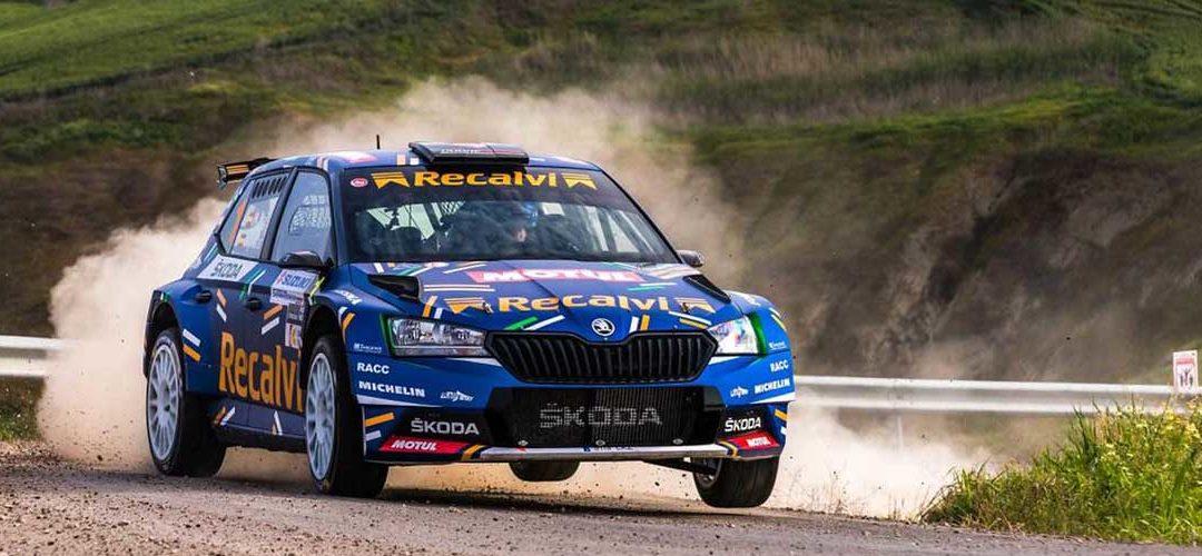 Motul soutient l'équipe Recalvi dans le championnat d'Espagne de Super Rally