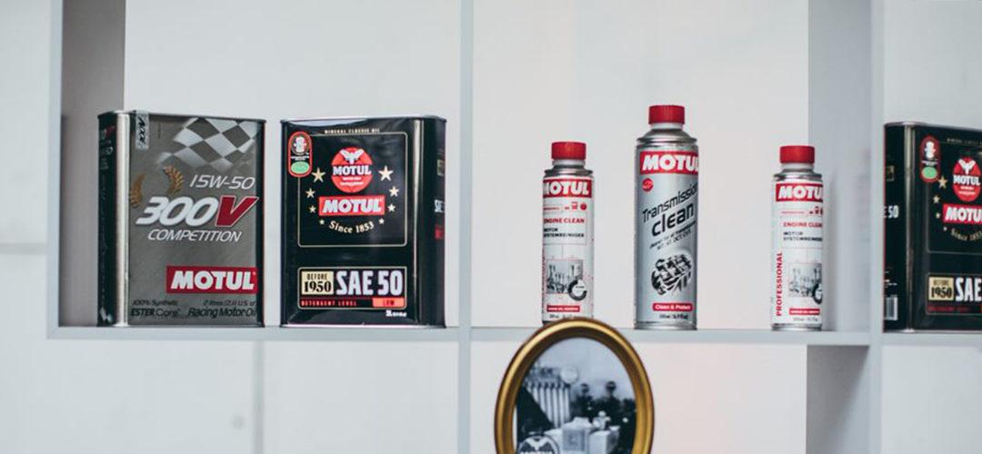 Une configuration sans faille avec la gamme d'additifs et de lubrifiants Motul