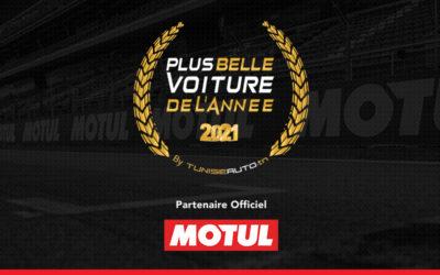 """MOTUL, partenaire officiel de """"La Plus Belle Voiture de l'année 2021"""""""